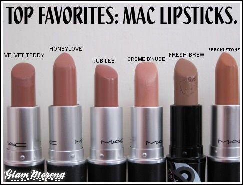 mac lipsticks into the nude makeup pinterest lippenstift mac lippenstift und kosmetik. Black Bedroom Furniture Sets. Home Design Ideas