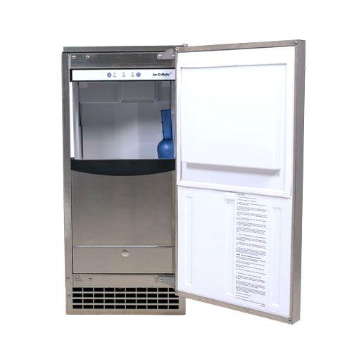 Ice O Matic Gemu090 85 Lb Nugget Ice Machine Ice Machine Sonic Ice Drink Station