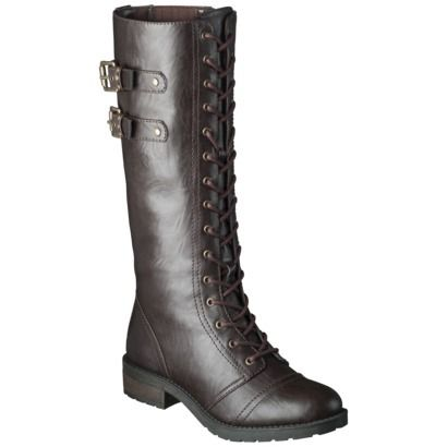 I think this pair of boots from Target.com may give me the Katniss look I want, without the expensive price tag of the originals (these are only $39.99).