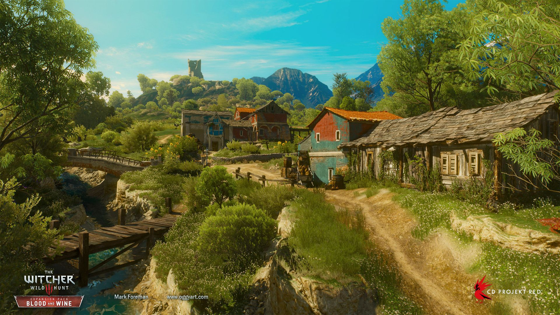 ArtStation - The Witcher 3: Blood and Wine, Mark Foreman