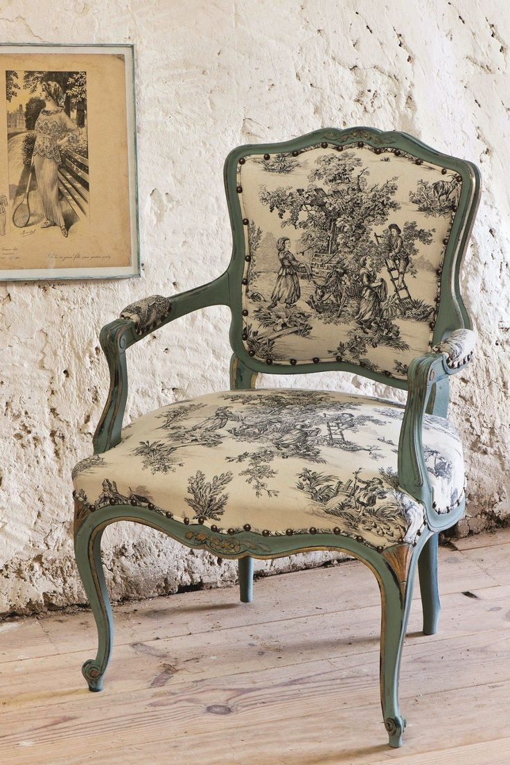 French Country Style With Annie Sloan's Room Recipes For Style and Colour is part of Rococo chair - If you love French Country Style you will love the inspiration provided by Annie Sloan in her book Room Recipes for Style and Colour  Read on for all the French Country Style!