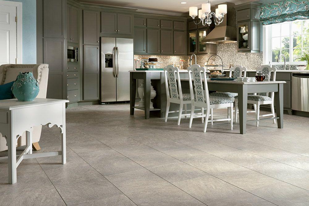 Armstrong Luxury Vinyl Tile LVT Warm Gray Stone Look
