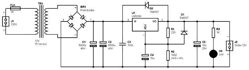 12v power supply circuit pdf