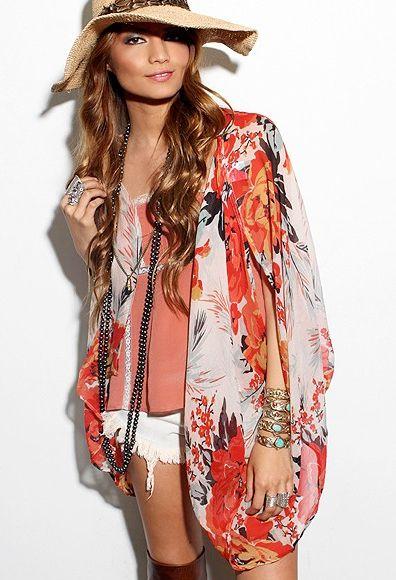 Love this Kimono print