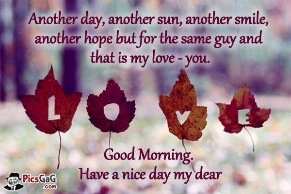 Be A Reason For The Smile On Your Lovers Face By Wishing Her A Very Good Morning With Our Good Morning My Love Quotes