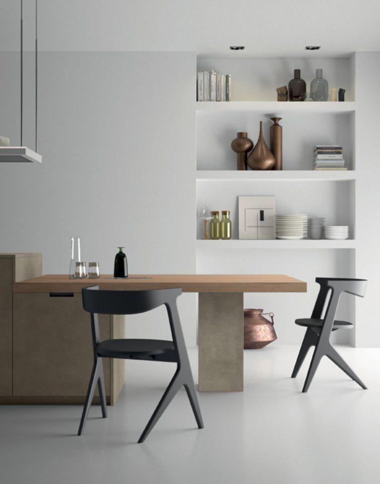 Style la cucina moderna le cui numerose finiture for Composizioni soggiorno design