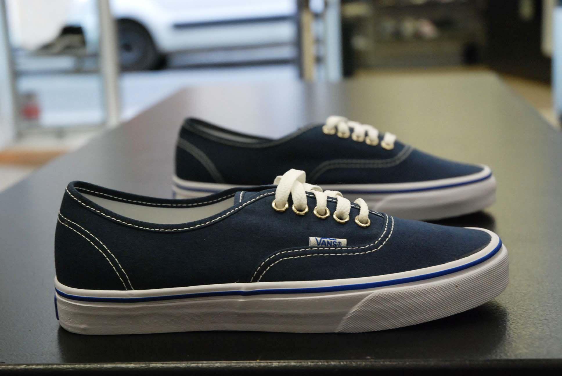 Vans Authentic Bleu/Marine/Blanc