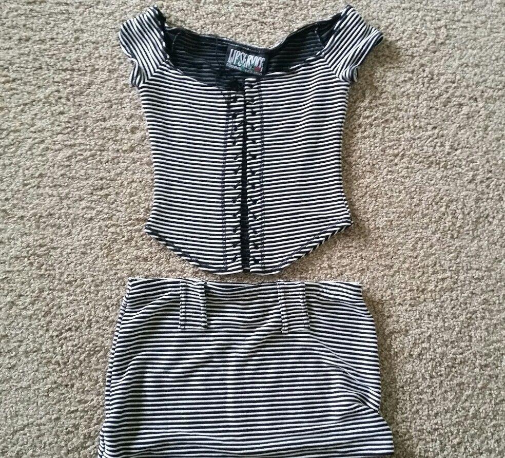 LIP SERVICE top #37-00 & miniskirt #37-03