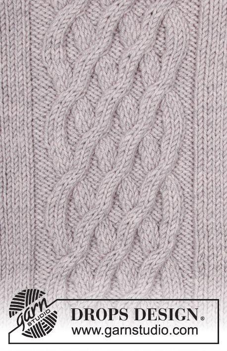 Patrón gratuito de punto | sweter tejidos | Pinterest | Sweter ...