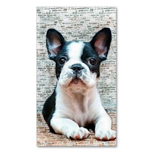 French Bulldog Business Cards Zazzle Com Happy Birthday French