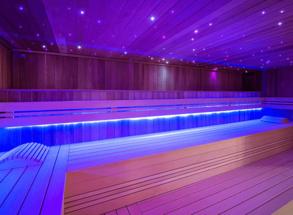 Ledstrips in sauna / Sauna LED verlichting | Ledstrips voor ...