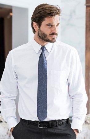 Mega fede Cellbes Skjorte Hvid Cellbes Skjorter til Herrer i behagelige…