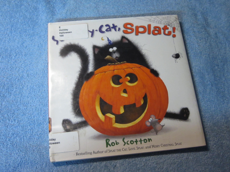 Scaredy Cat Splat Children S Read Along Story Book Aloud