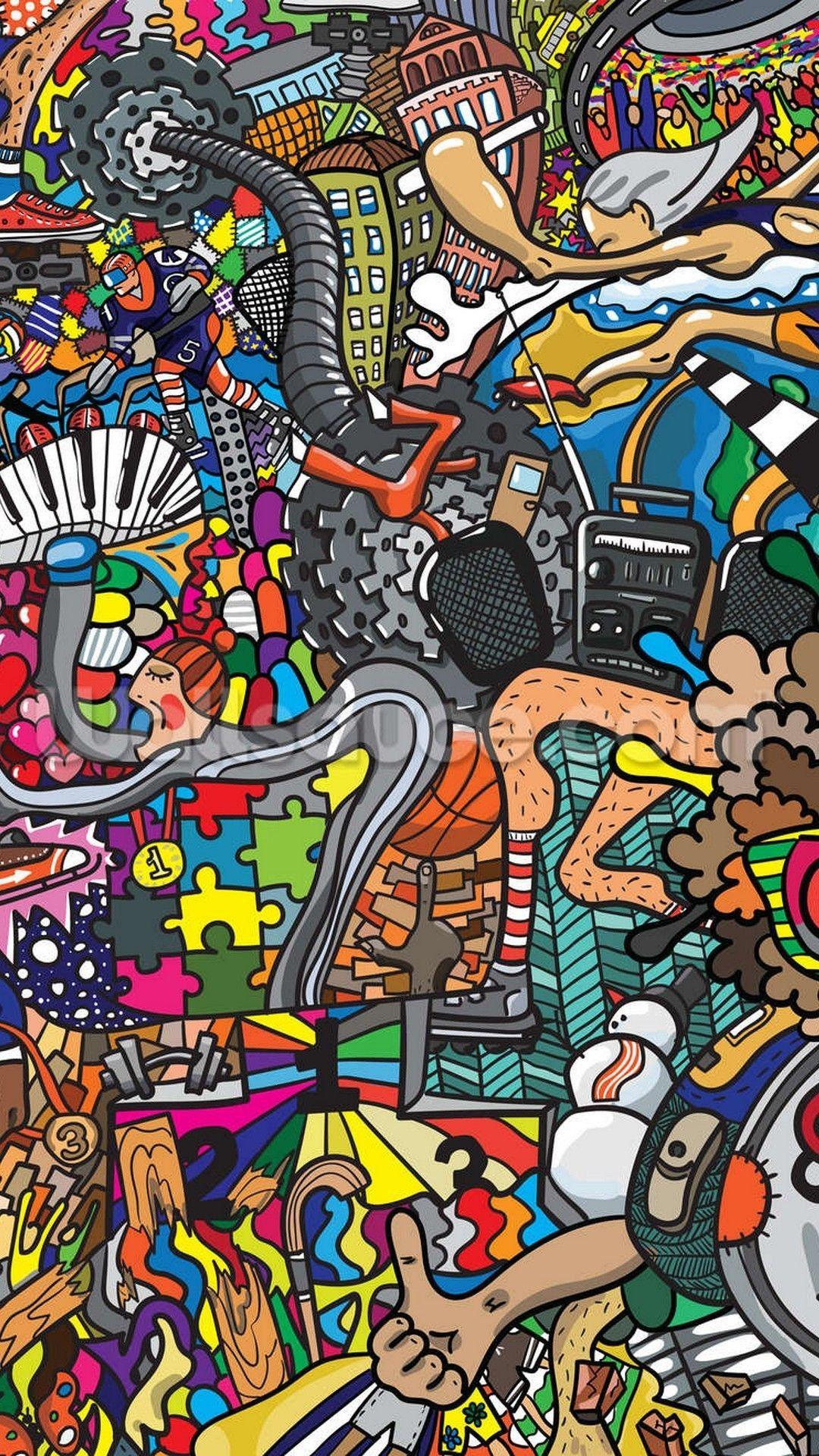 Graffiti Wallpaper Ios > Flip Wallpapers > Download Free