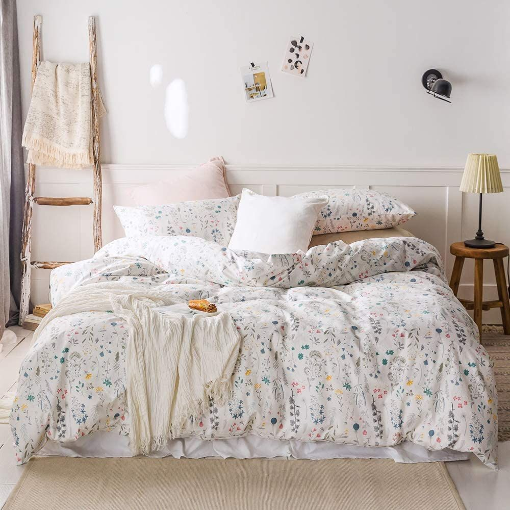 Farmhouse Duvet Covers Rustic Duvet Covers Farmhouse Goals In 2020 Colorful Duvet Colorful Duvet Covers White Bed Set