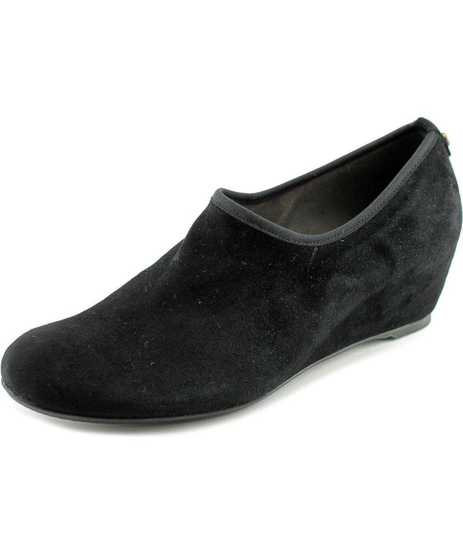 STUART WEITZMAN Stuart Weitzman Covering   Open Toe Suede  Wedge Heel'. #stuartweitzman #shoes #pumps & high heels