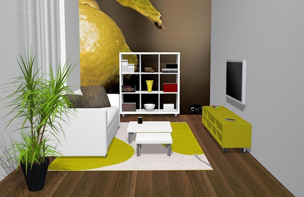 Este proyecto es de una sala de estar hemos puesto pocos for Muebles milenium catalogo