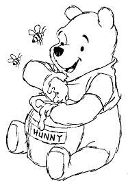 Winnie The Pooh Birthday Coloring Pages Google Search Winnie The Pooh Drawing Disney Coloring Pages Animal Coloring Books