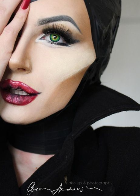 Easy Halloween Makeup for 2017 maquillaje Pinterest Easy - cool makeup ideas for halloween