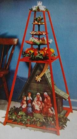 Italian Ceppo Christmas Tree Alternative