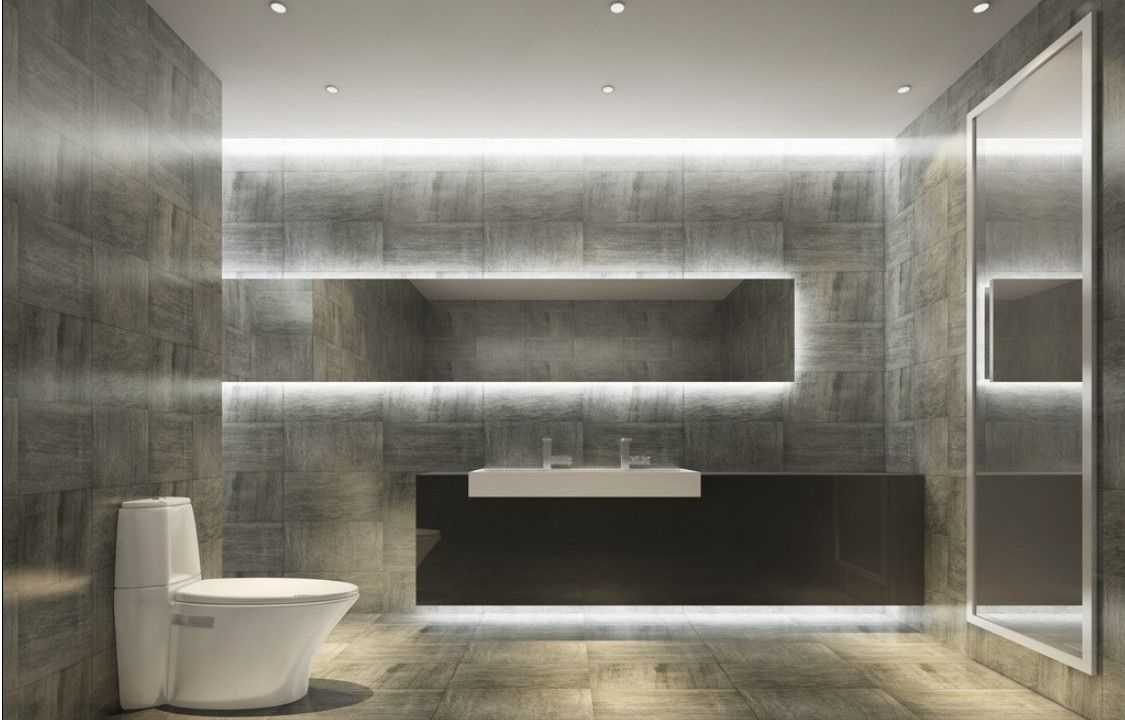 Restaurant toilets design brick 1125 720 for Toilet bathroom design