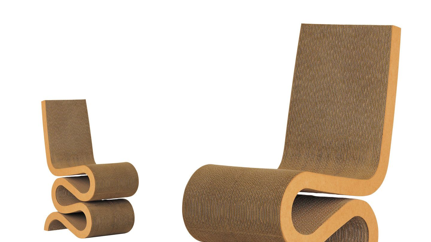Wiggle Side Chair Frank Gehry 1972 Mobili Rios Pinterest # Muebles De Frank Gehry