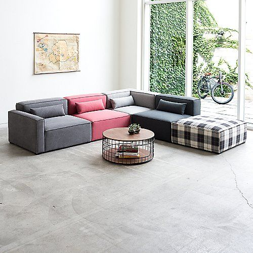 With The Gus Modern Mix Modular Sofa Collection Mix And Match Any Of The Modules To Create Modern Furniture Living Room Modular Sectional Sofa Sectional Sofa