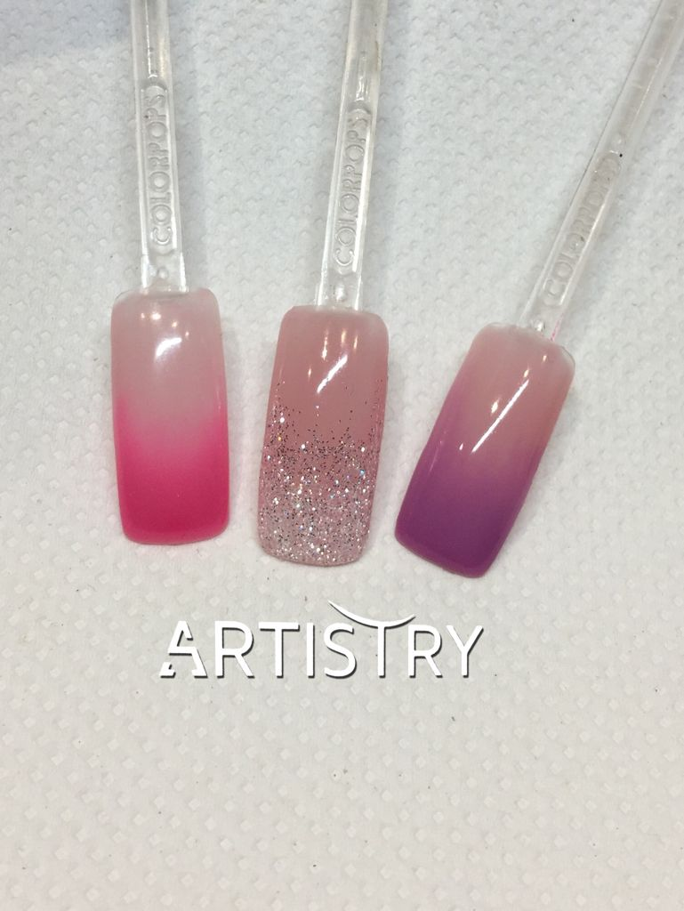 Color and glitter babyboom/french Ombre... #lovedoingnails #nails ...