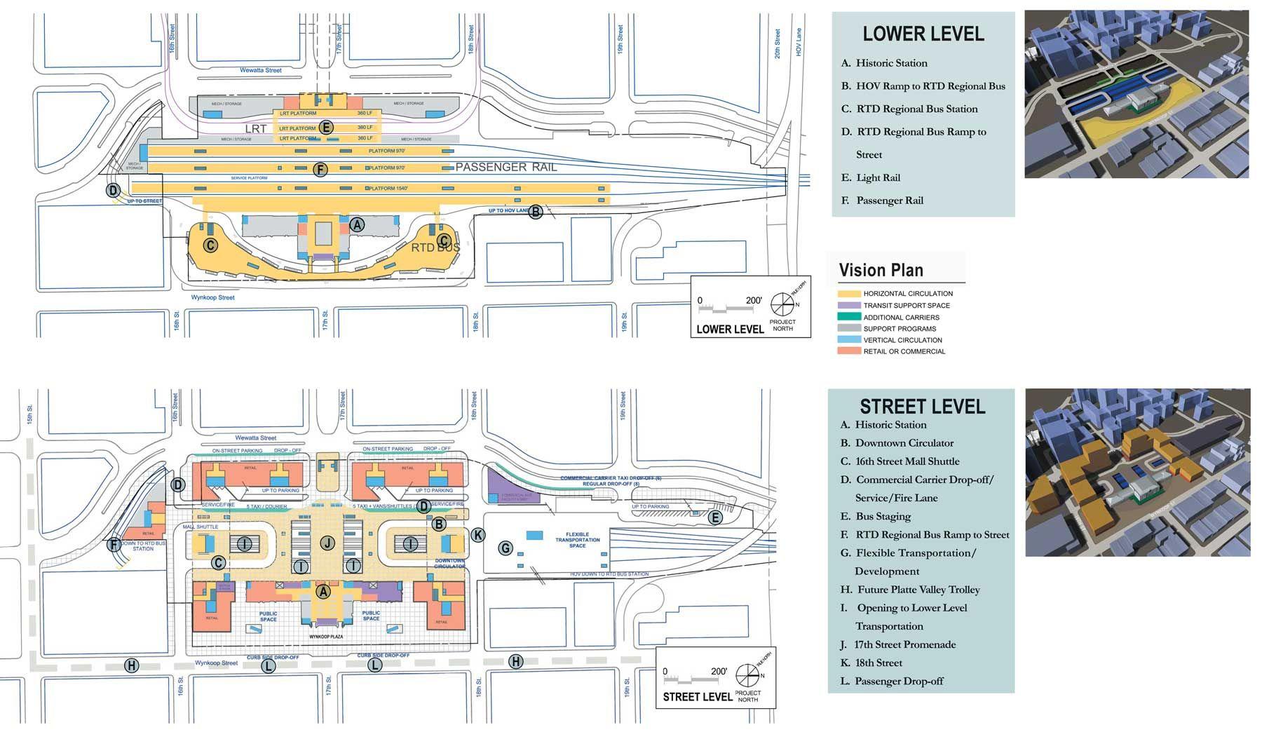 union station denver map Master Plan Union Station Denver Union Station How To Plan union station denver map