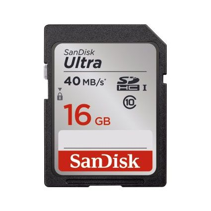 Sandisk Ultra SDSDUN-016G-G46 Tarjeta SDHC 16GB Clase 10 UHS-I;  Maximiza el rendimiento de tu cámara o videocámara con las tarjetas SD de SanDisk Ultra... En   http://www.opirata.com/sandisk-ultra-sdsdun016gg46-tarjeta-sdhc-16gb-clase-uhsi-p-28097.html