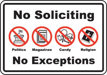 NO SOLICITING SIGN,Do Not Knock,No Trespassing,Do Not Disturb Sign,DNKS1