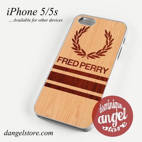 fred perry wood Phone case for iPhone 4/4s/5/5c/5s/6/6s/6 plus