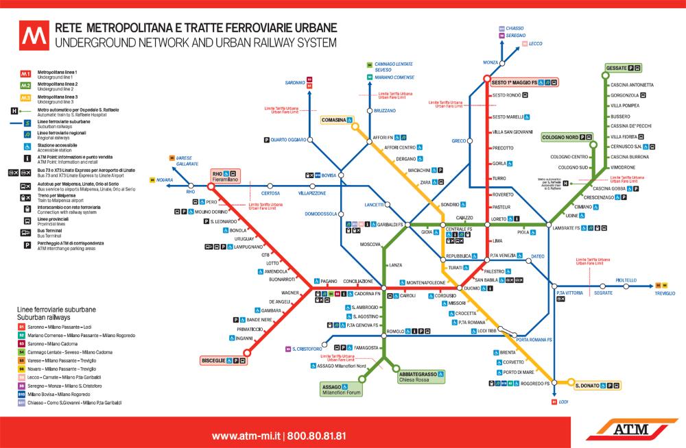 Metro De Milán Líneas Horarios Y Precios Del Metro De Milán Plano Metro Mapa Del Metro Transporte