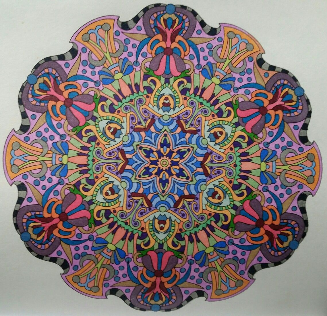 05-22-16 Angie Grace Book | Grownup Coloring | Pinterest | Mandala ...