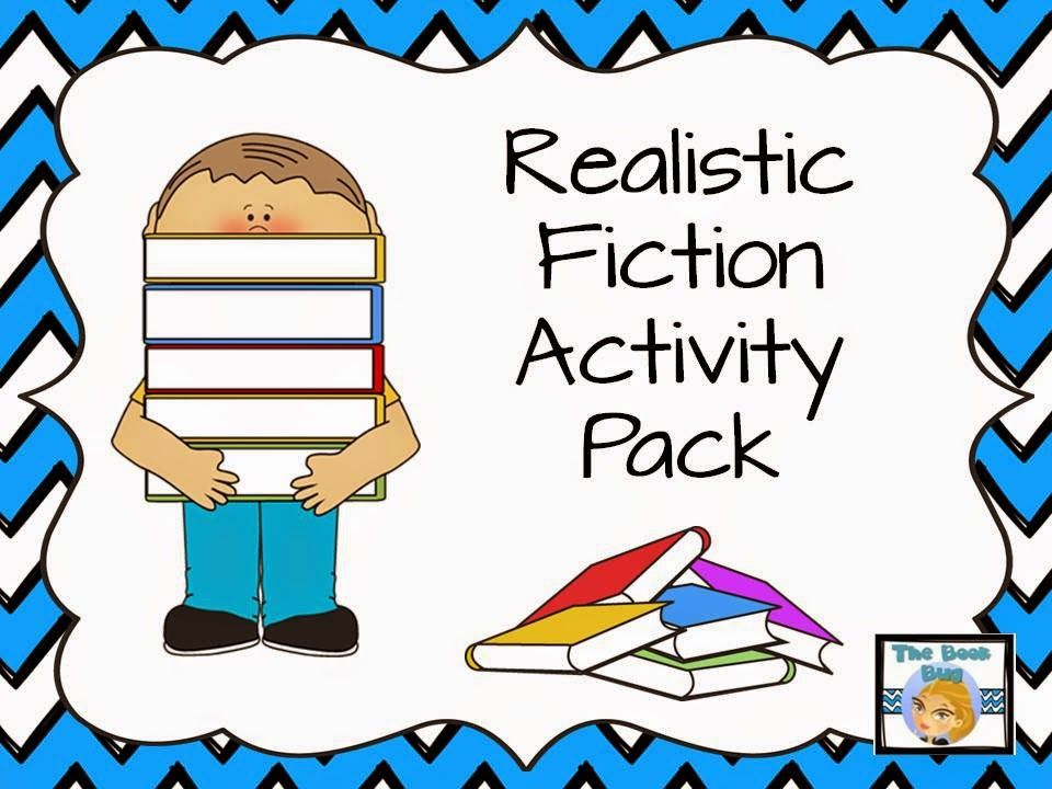 FREE Realistic Fiction Activity Pack That Includes An Aurama