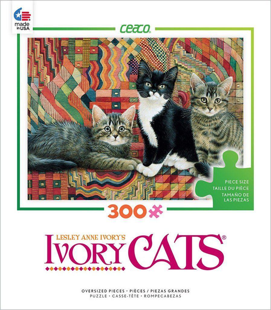 Ivory Cats Christie, Posky and Zelly 300 Oversized