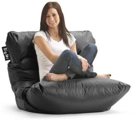 Big Joe Roma Chair, Limo Black #BigJoe