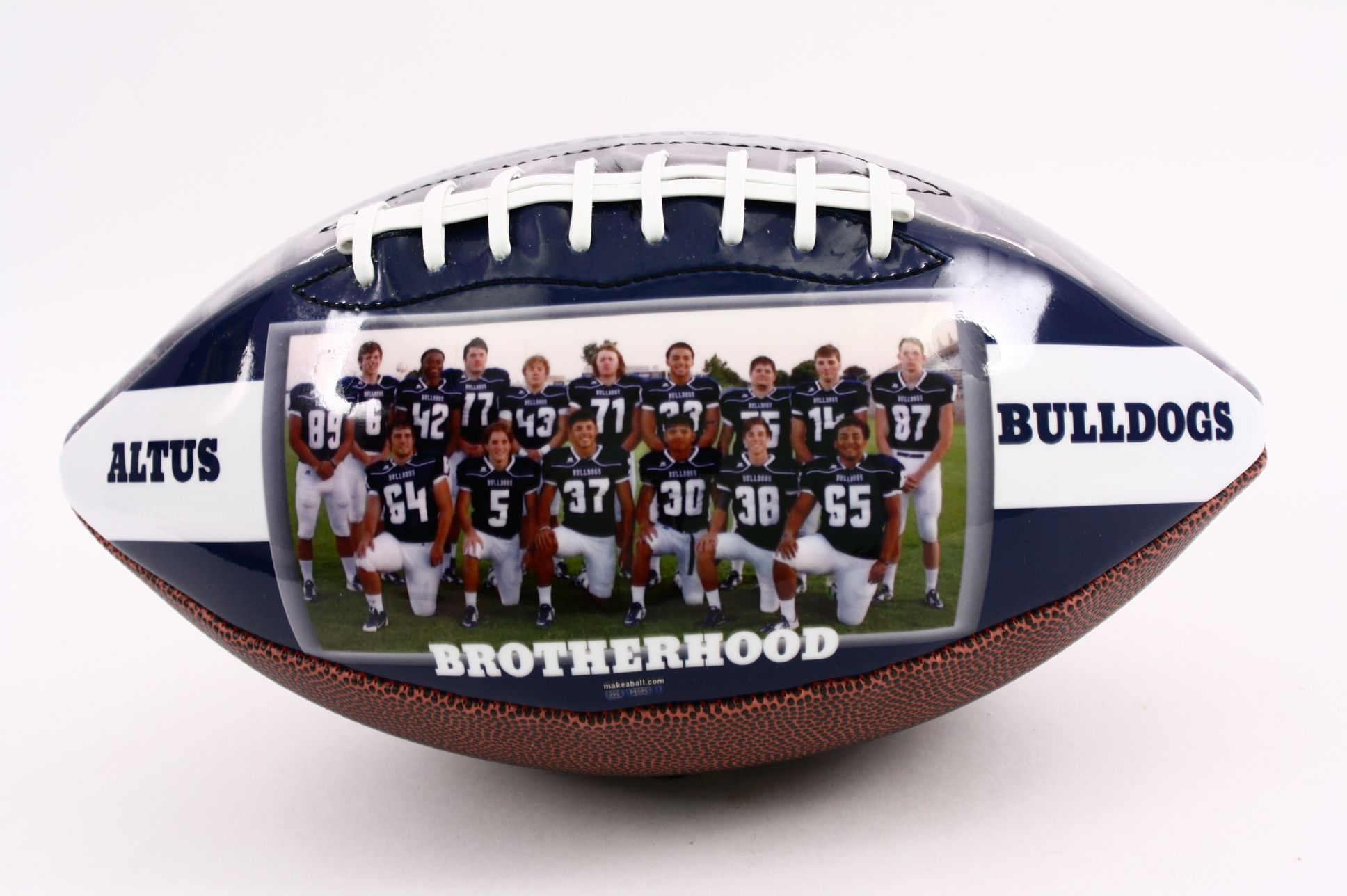 personalized football gift for