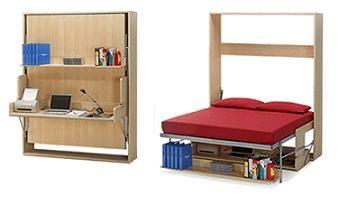 cama u escritorio plegable