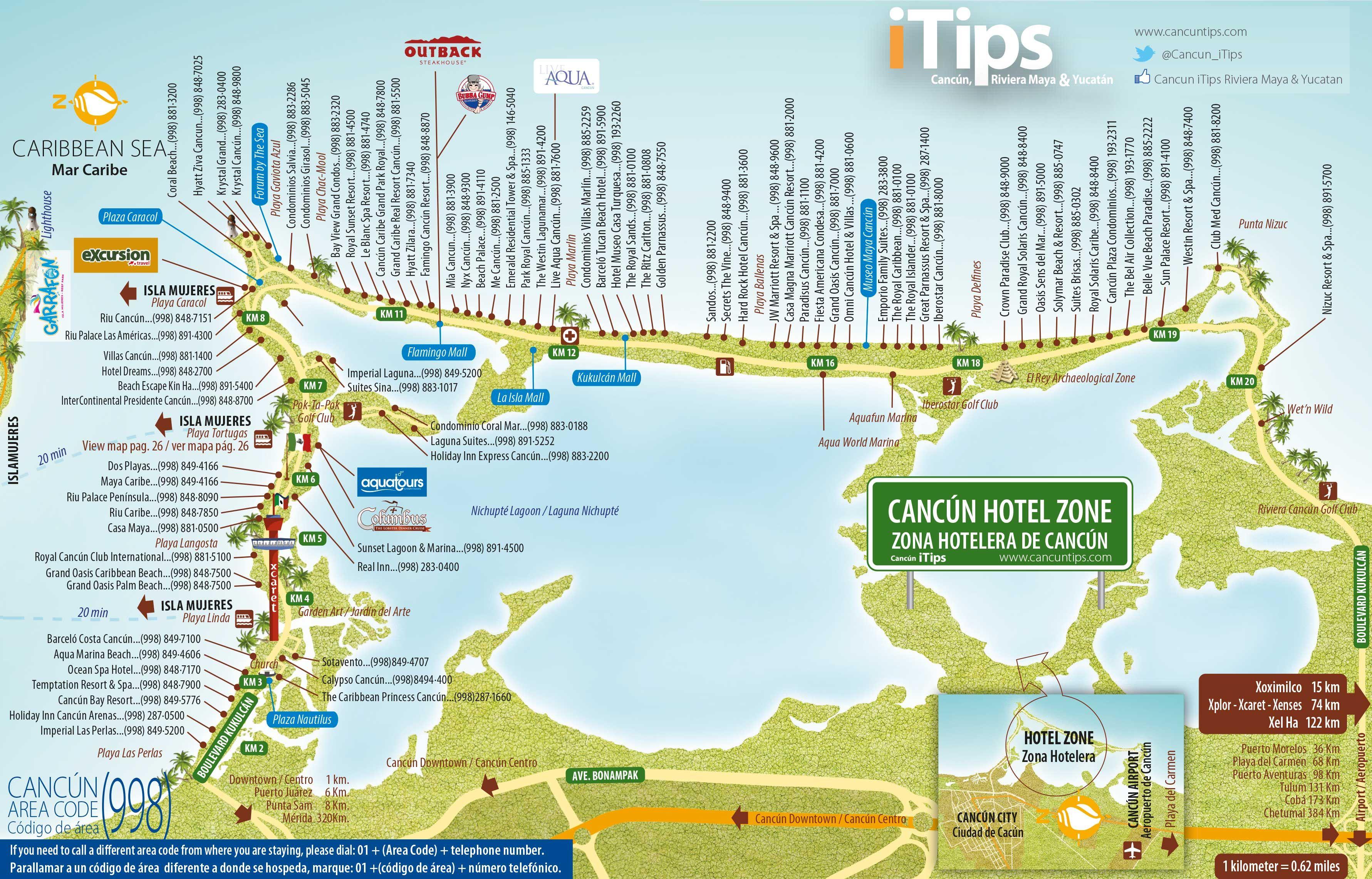 Hotel Zone Map Cancun Tips In 2021 Cancun Resorts Cancun Map Cancun Hotel Zone