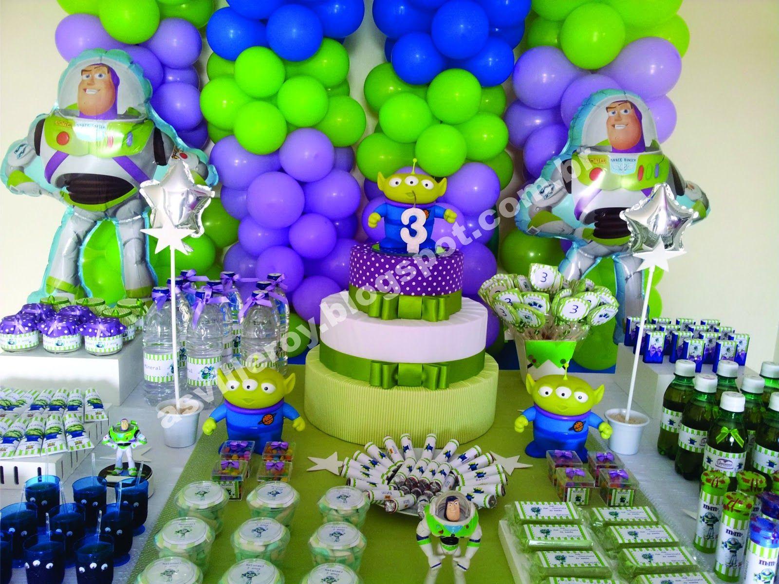 As Villeroy Festa Buzz Lightyear E Aliens Fiesta De Toy Story
