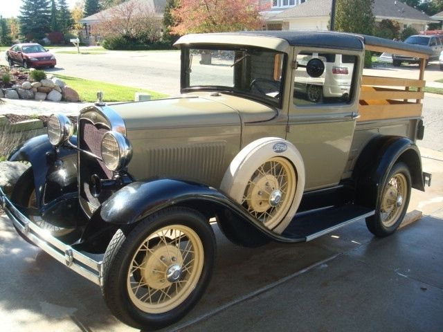 Auction 1931 Ford Model A Pickup Ford Models Ford Model