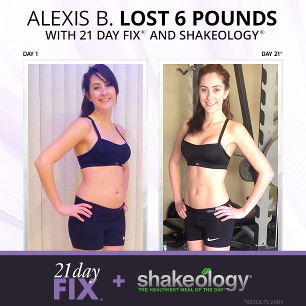 21 Day Fix + Shakeology (weight loss before and after) Get extreme weight  loss