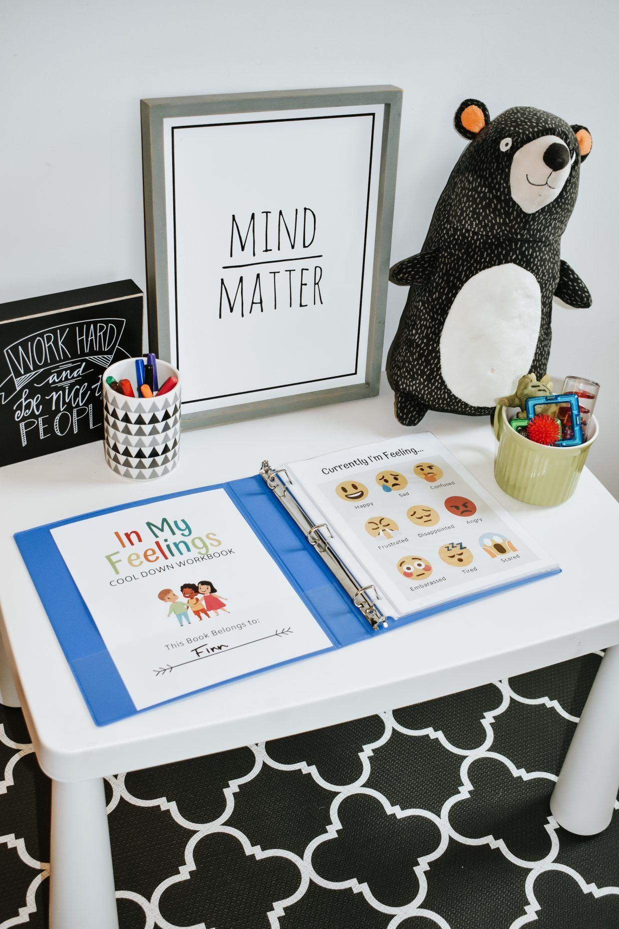 Help Kids Cool Down With This Free Printable Workbook