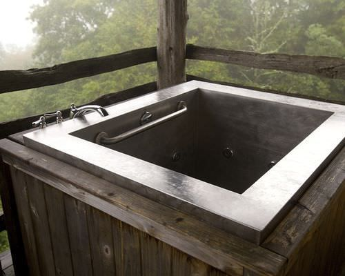 diamond spas japanese soaking tub. Shown Is A Custom Stainless Steel Japanese Soaking Bath By Diamond Spas  The Designed With Bench Seat For Optimal Bathing Comfort Vasca Da Bagno Incasso In Acciaio Inox JAPANESE