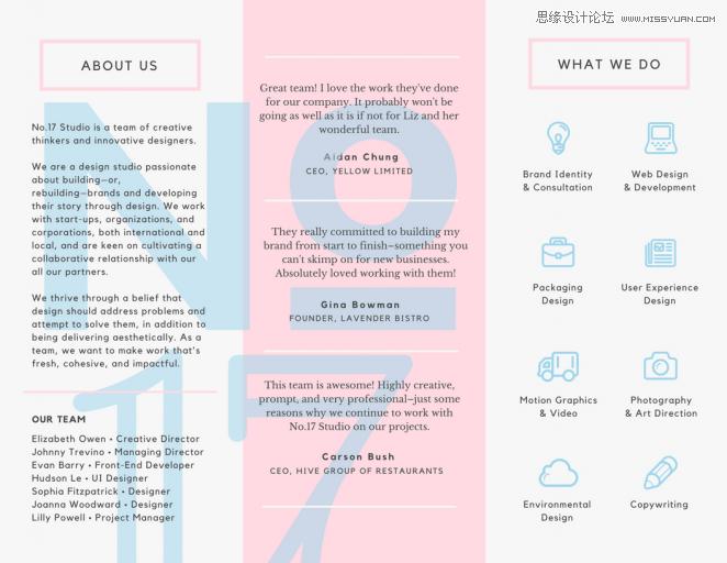 個設計技巧教你設計驚艷的三折頁 MAGLayout Pinterest Brochures - Asthma brochure template