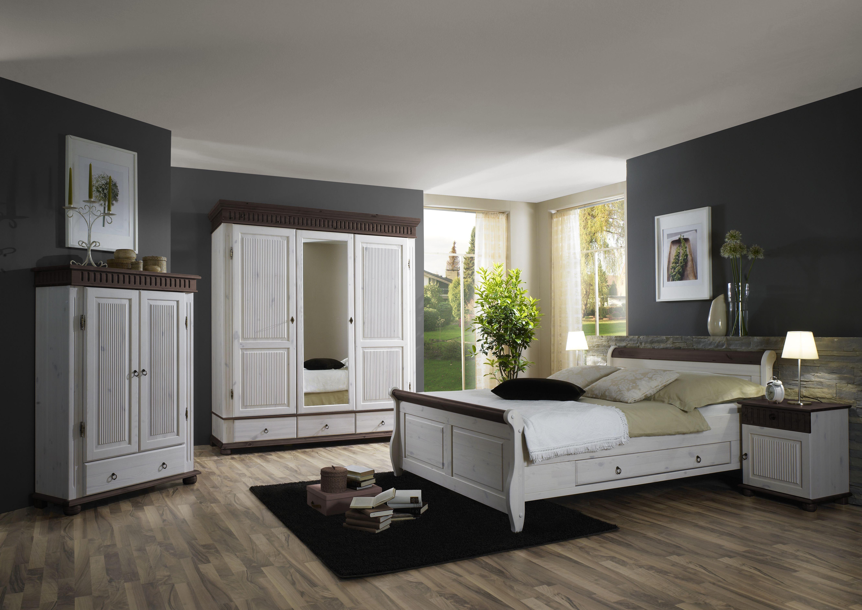 Schlafzimmer kiefer ~ Schlafzimmer kiefer massiv im landhausstil helsinki 222 999