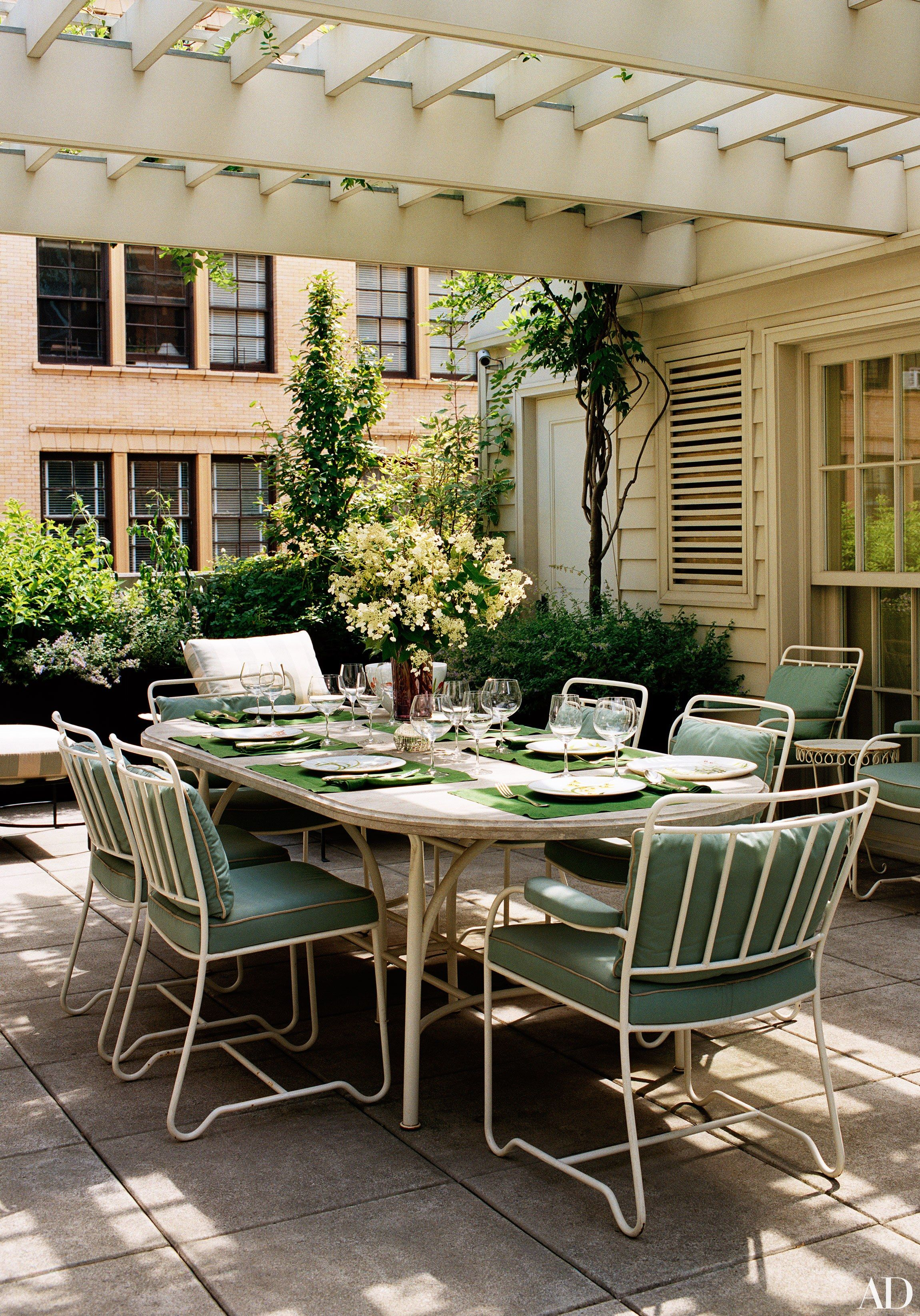 At Home With Marc Jacobs And Neville, His Insta Famous Bull Terrier. Outdoor  DiningOutdoor ...