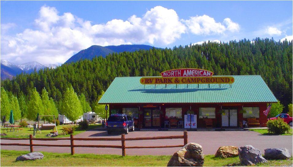 Glacier National Park Montana Rv Park Campground Camping