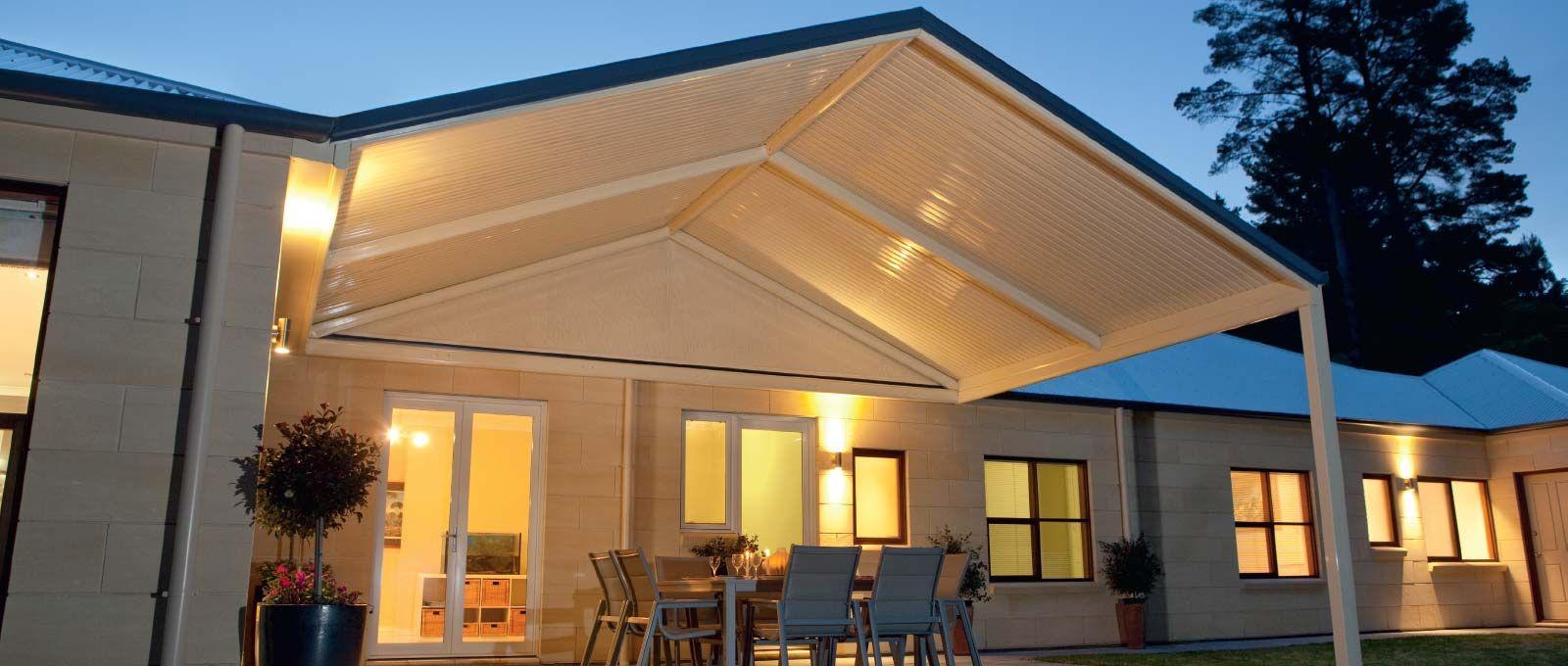 Stratco Outback Gable Verandah, Patio Patio, Outdoor